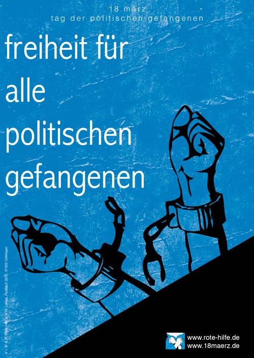 18. März 2014: Internationaler Tag der politischen Gefangenen