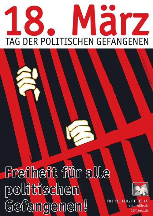 18. März 2015: Internationaler Tag der politischen Gefangenen