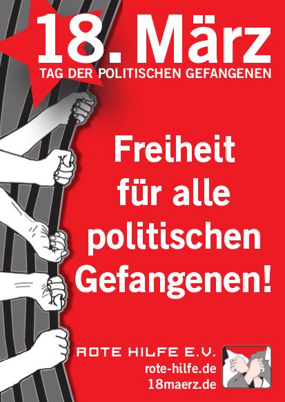 18. März 2016: Internationaler Tag der politischen Gefangenen