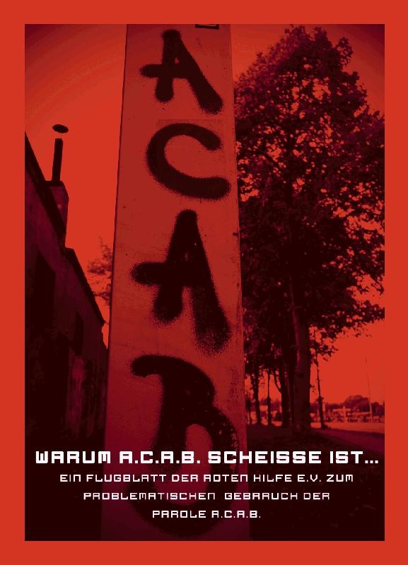 ACAB Flyer - Seite 1