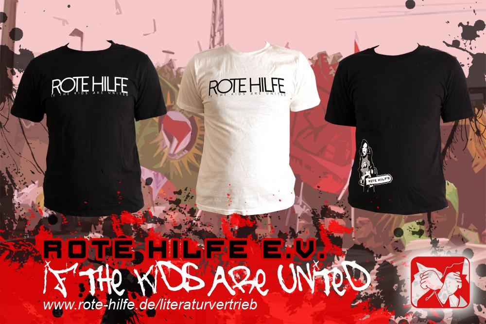 Neue T-Shirts im Literaturvertrieb