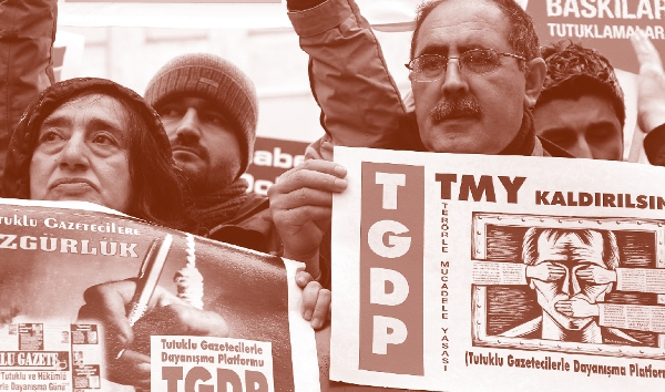 Freies Denken unter Strafe - Pressefreiheit in der Türkei