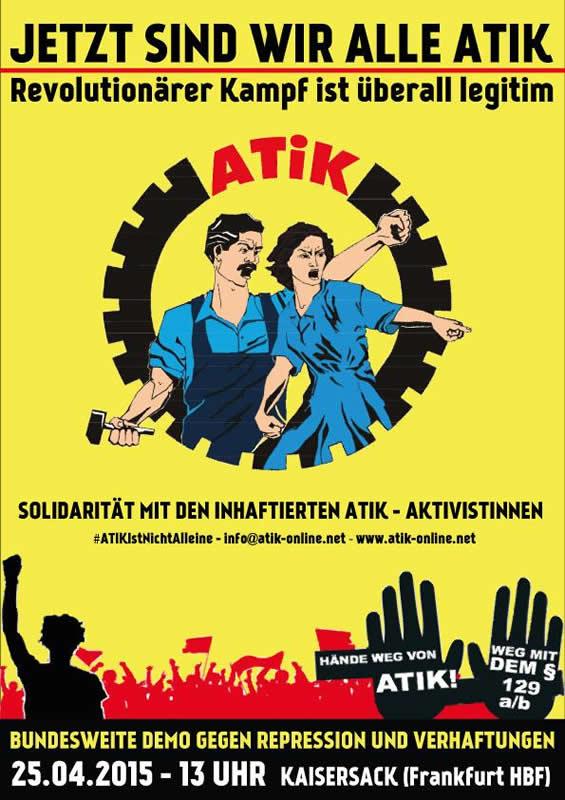 Solidarität mit der ATIK!