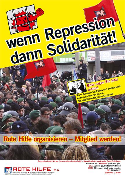 Wenn Repression, dann Solidarität!